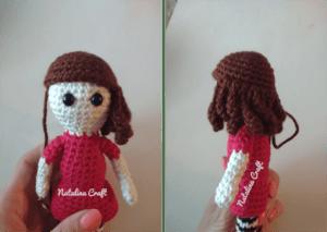 how to crochet hair
