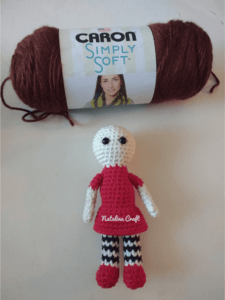 how to crochet doll hair