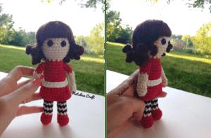 crochet small doll