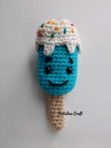 crochet kawaii popsicle