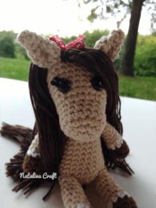 crochet horse amigurumi