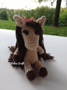 amigurumi horse