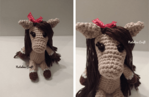 crochet horse pattern booties