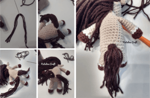 how to crochet an horse