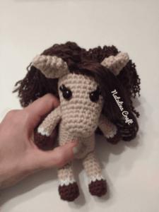 crochet small horse