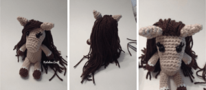 crochet mane horse