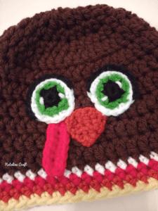 Turkey hat thanksgiving free crochet pattern