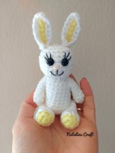 crochet little bunny