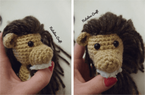 how to crochet a lion mane