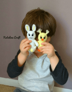 Free crochet pattern amigurumi chick