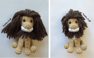 crochet small lion