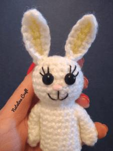 how to crochet bunny's ears