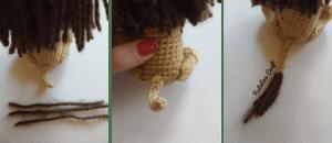Free pattern crochet Lion