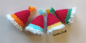 crochet party hat