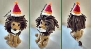 crochet lion circus