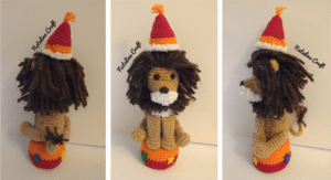 crochet pattern Lion