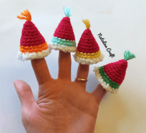 crochet tiny hat