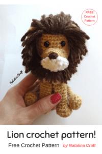 Free crochet pattern Lion