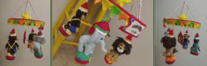 Circus baby mobile