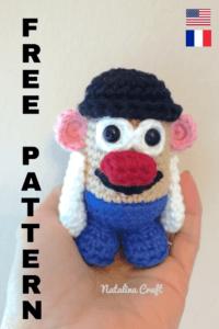 Free crochet pattern potato head