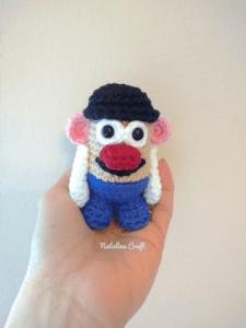 crochet pattern potato head