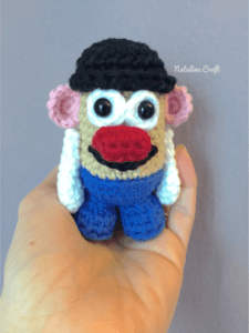 crochet pattern keychains