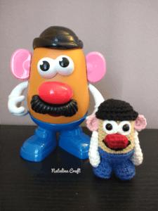 crochet potato head
