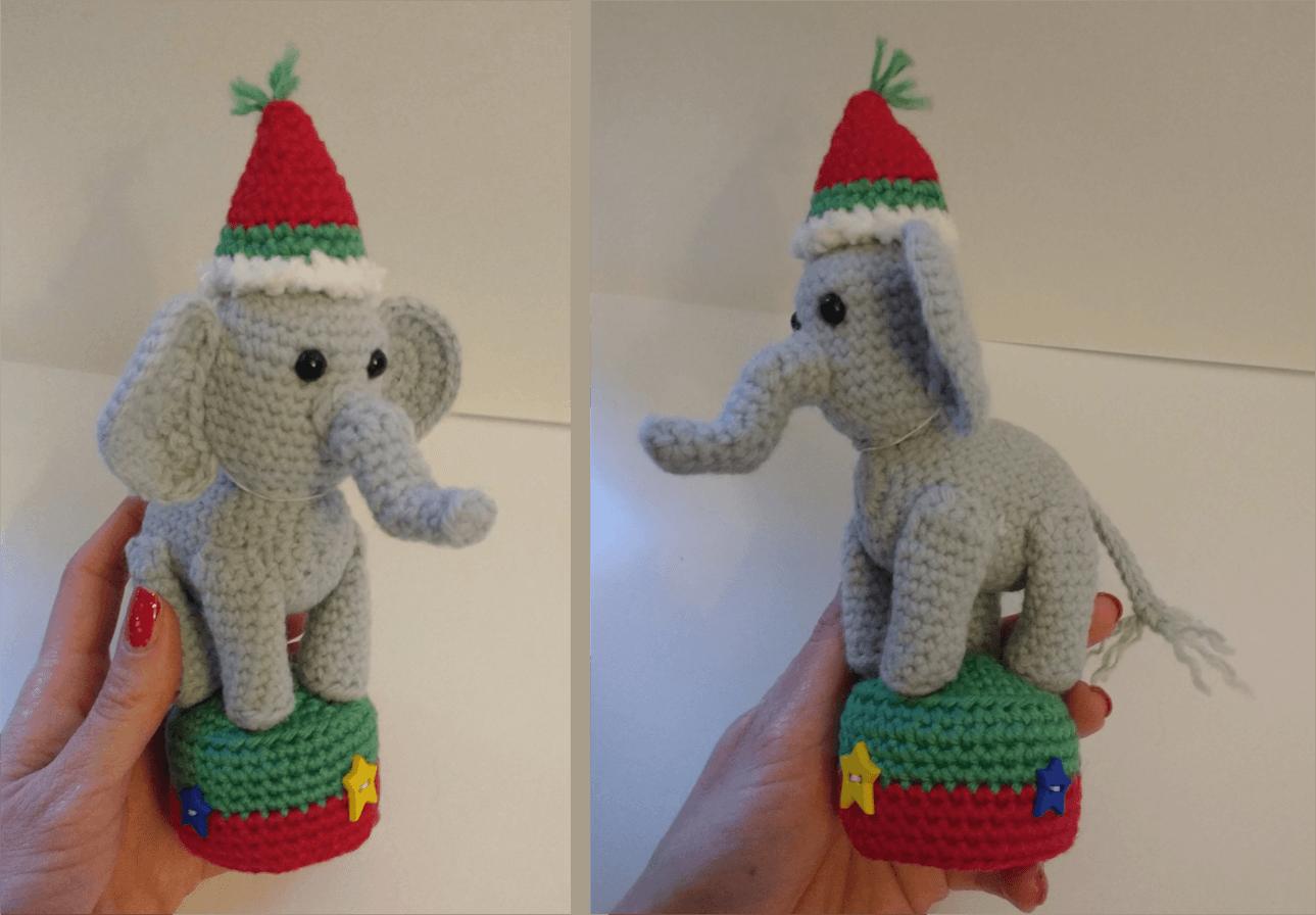 Amigurumi Éléphant crochet partie 2/2 🐘 - YouTube   896x1289