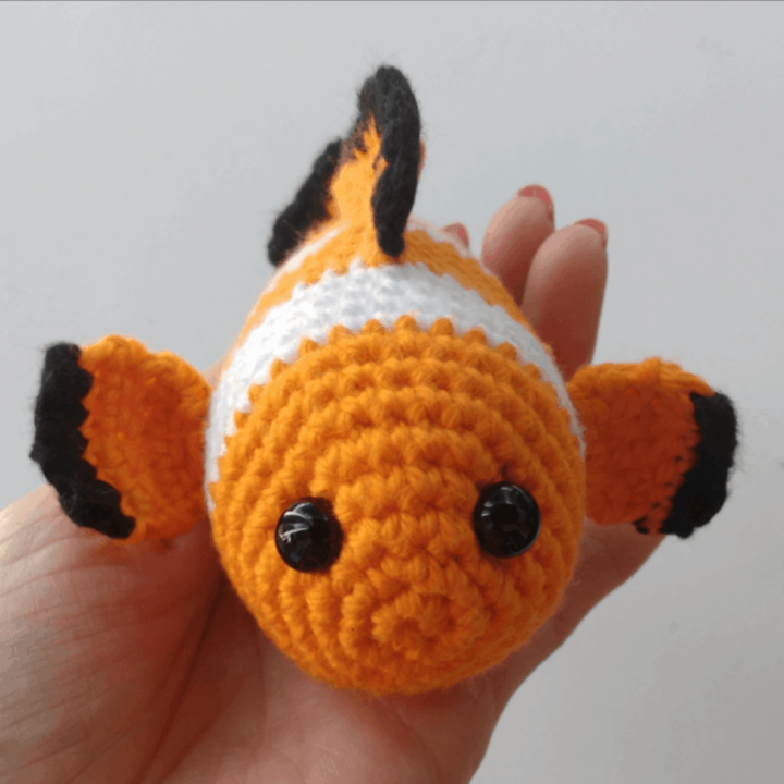 crochet clownfish