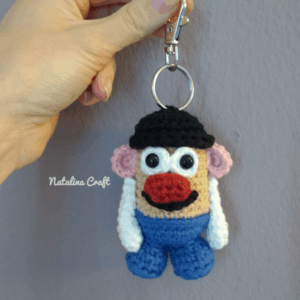 crochet potato head