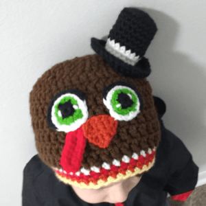 crochet hat turkey