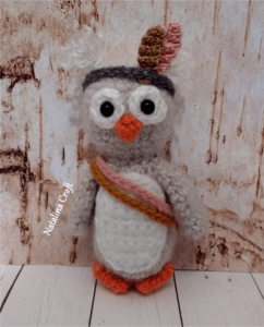 how to crochet a owl