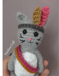 crochet kitten
