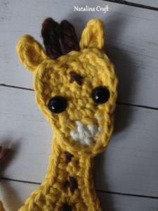 crochet giraffe baby