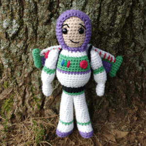 Crochet buzz lightyear