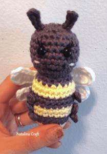 amigurumi pattern bee