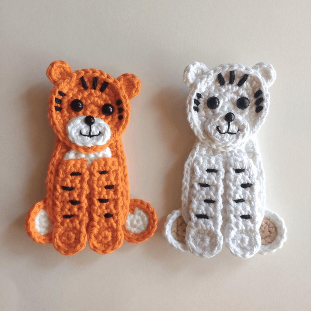 Free Crochet Tiger Amigurumi Pattern - thefriendlyredfox.com | 1024x1024