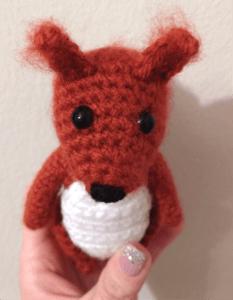 crochet pattern squirrel