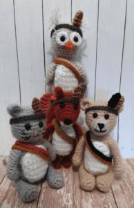 crochet forest animal