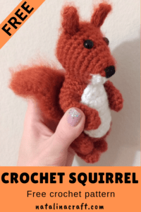 Crochet Squirrel