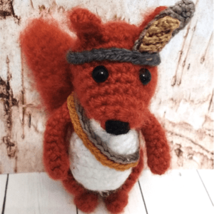 Crochet Squirrel