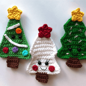 christmas tree crochet