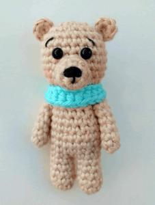 crochet tiny bear