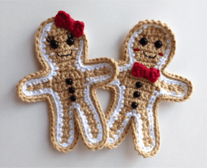 crochet christmas pattern applique