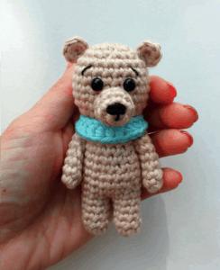 crochet small bear