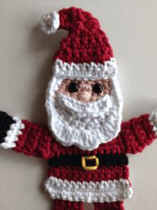 crochet pattern santa