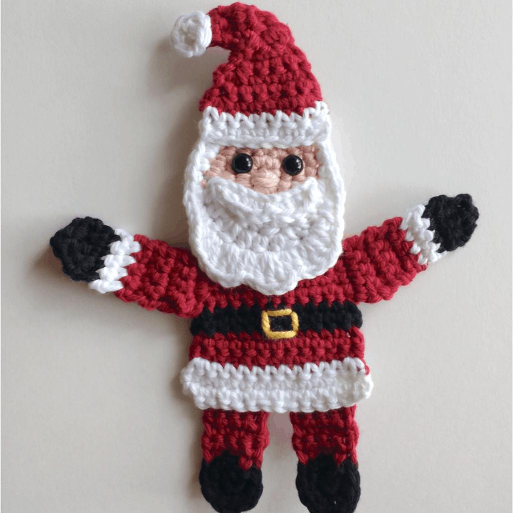 Crochet Santa Claus Amigurumi - Tutorial + Free Pattern ... | 1024x1024