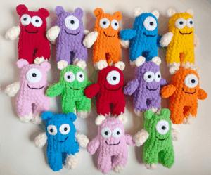 Crochet pattern monster