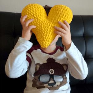 Crochet heart Valentine's day